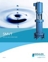BRSMVT SMVT Surface Mount Vertical Turbine Pump