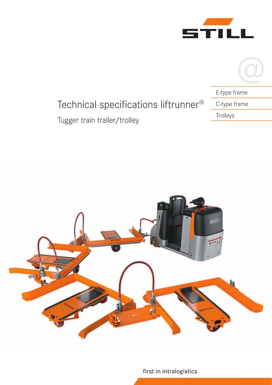 Tugger train - STILL - PDF Catalogue   Technical Documentation ...