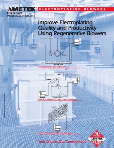 Electroplating Blowers - AMETEK Dynamic Fluid Solutions - PDF
