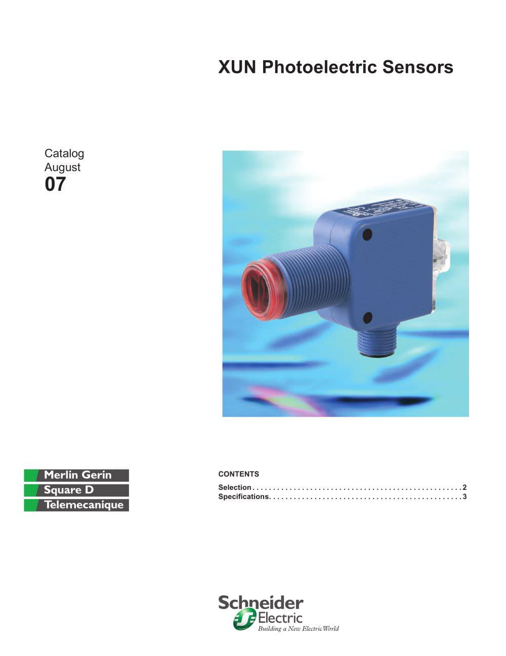 PhotoVirtu™ Photoelectric Sensor - Telemecanique Sensors - PDF ...