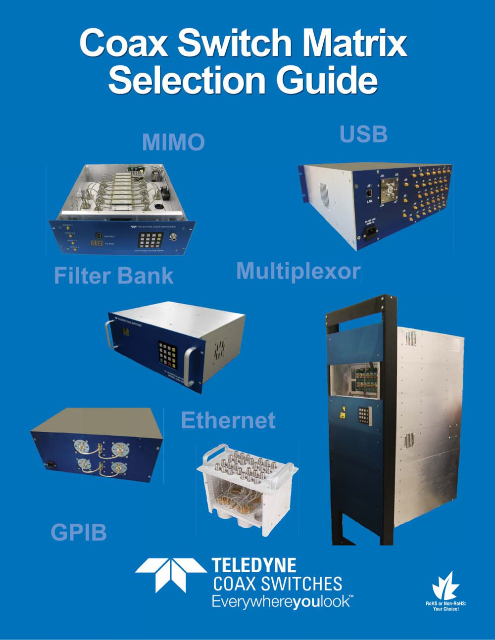 Matrix Selection Guide Teledyne Relays Pdf Catalogs Technical Solid State Relay 1 28 Pages