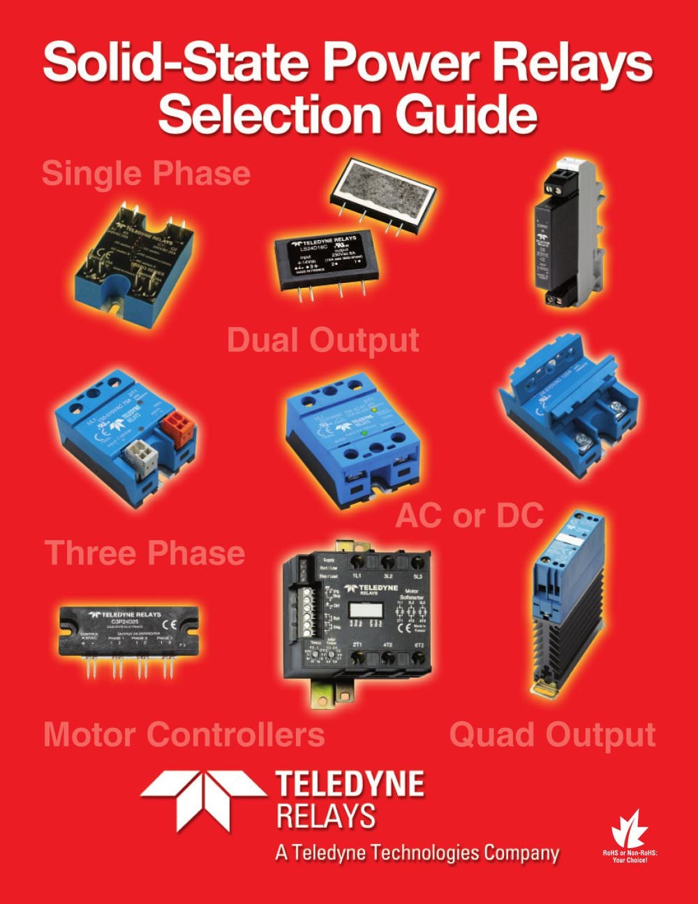 Teledyne Relays SolidState Power Relays Selection Guide