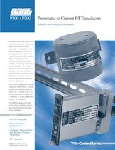 P200 Pneumatic-to-Current P/I Transducers