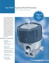 T950XP Explosion-Proof I/P Transducer