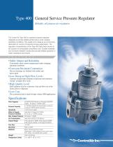 Type 400 General Service Regulator