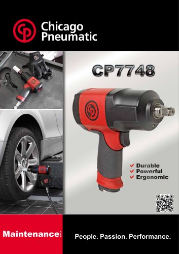 CP7748 - Chicago Pneumatic - PDF Catalogs | Technical