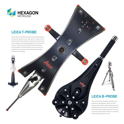 Leica B-Probe and T-Probe Top Features Flyer - Leica Geosystems ...