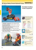 BP-Series, Battery Powered Hydraulic Pumps