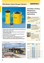 RCH-Series, Hollow Plunger Cylinders