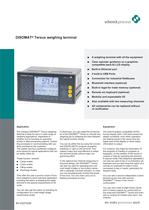DISOMAT&reg; Tersus weighing terminal