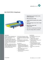 MULTIDOS&reg; E - Weighfeeder