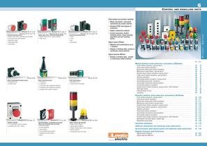 CONTROL AND SIGNALLING UNITS
