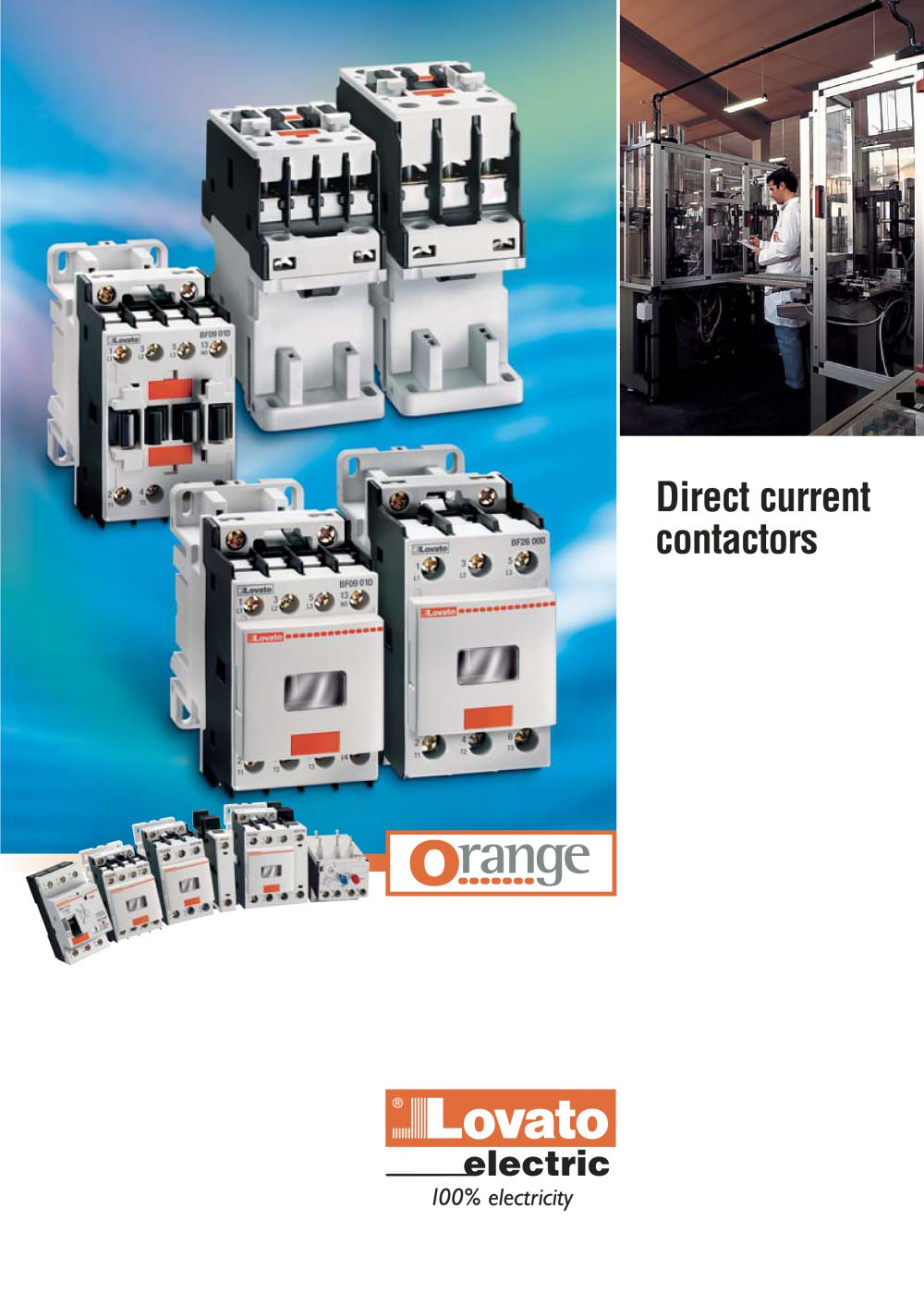 Direct current contactors - LOVATO ELECTRIC - PDF Catalogue ...