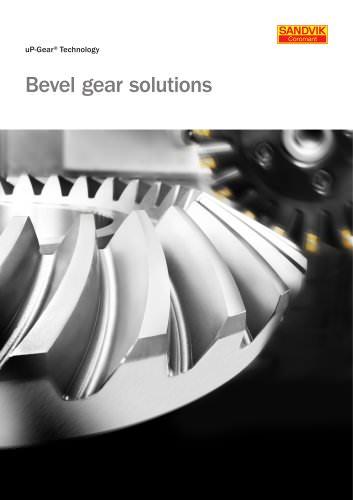 Bevel gear solutions - Sandvik Coromant - PDF Catalogs | Technical