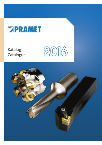 Pramet 2016 catalogue