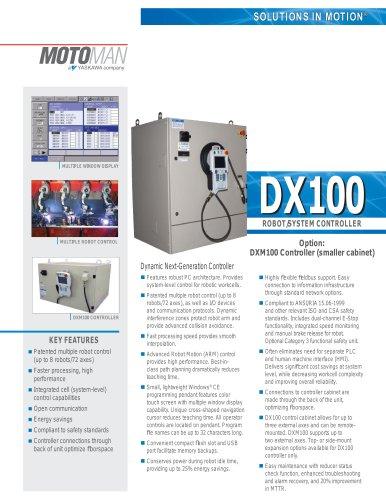 motoman dx100 robot system controller motoman pdf catalogue rh pdf directindustry com