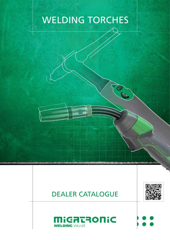 welding torches - Migatronic - PDF Catalogue | Technical ...