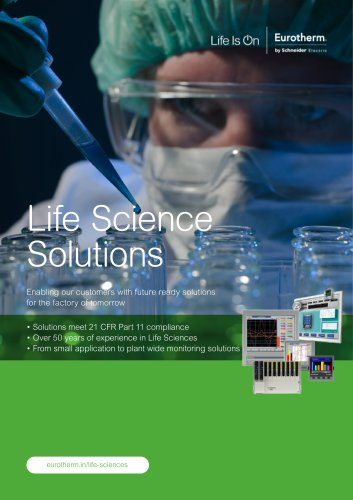 Life Sciences - EUROTHERM PROCESS - PDF Catalogs | Technical