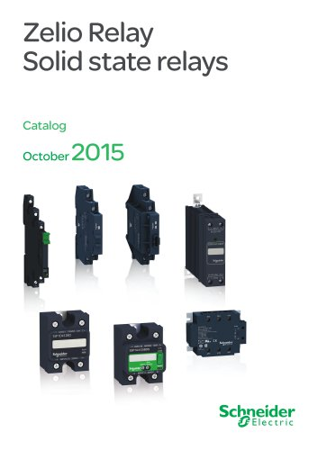 zelio relay solid state relays 1 21 pages