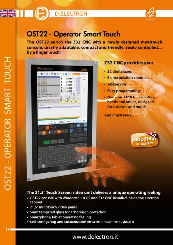 Z32 OST22 - Operator Smart Touch