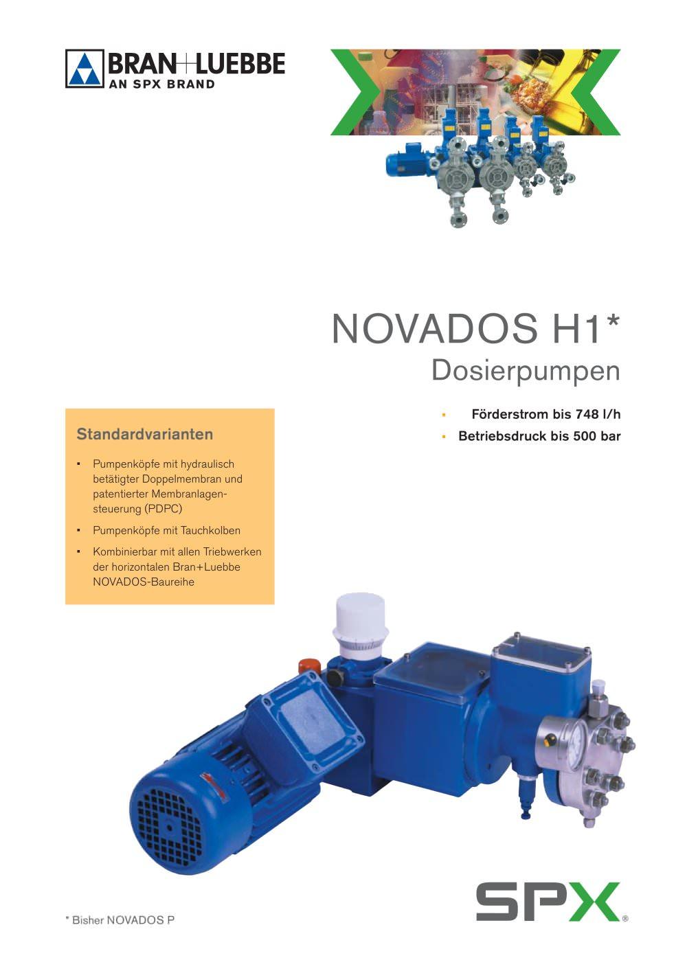 novados h1 bran luebbe pdf catalogue technical documentation rh pdf directindustry com Movado Destiny Movado Destiny