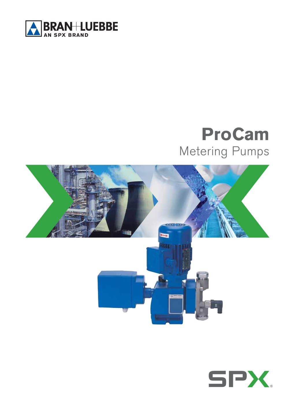 procam metering pumps bran luebbe pdf catalogue technical rh pdf directindustry com