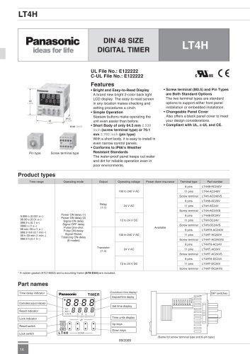 lt4h digital timer panasonic electric works europe ag pdf rh pdf directindustry com Panasonic Inverter Microwave 1300W Panasonic Inverter Microwave 1300W