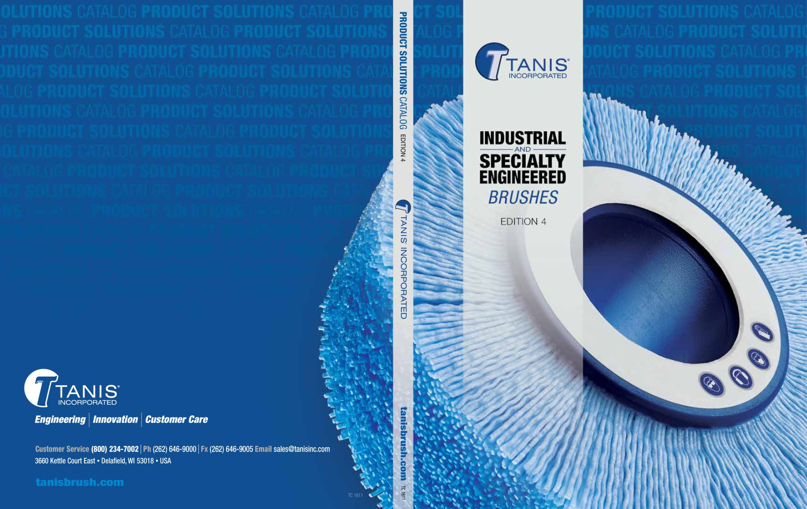 Industrial Brushes Catalog - Tanis Brush - PDF Catalogue | Technical ...