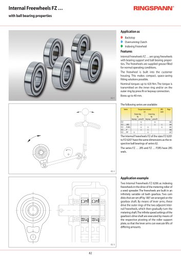 FZ … series - RINGSPANN - PDF Catalogs | Technical