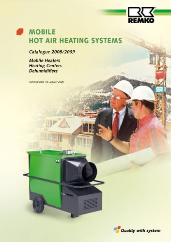 Mobile Warm Air Heating Systems 2008-2009