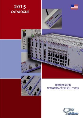 Catalogue CXR - Resume des produits de la gamme CXR - CXR