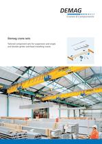 Demag crane sets - Tailored component sets for suspension, single and double-girder overhead travelling cranes