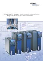 Demag Dedrive Compact frequency inverters - Smooth inverters for arduous applications up to 18.5 kW motor output