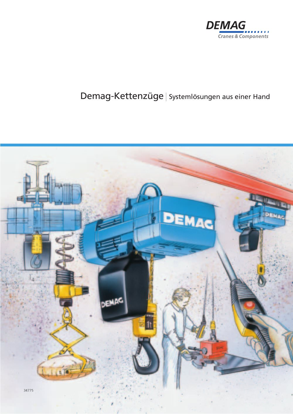Overhead Crane Demag Wiring Diagram Pdf | Wiring Library