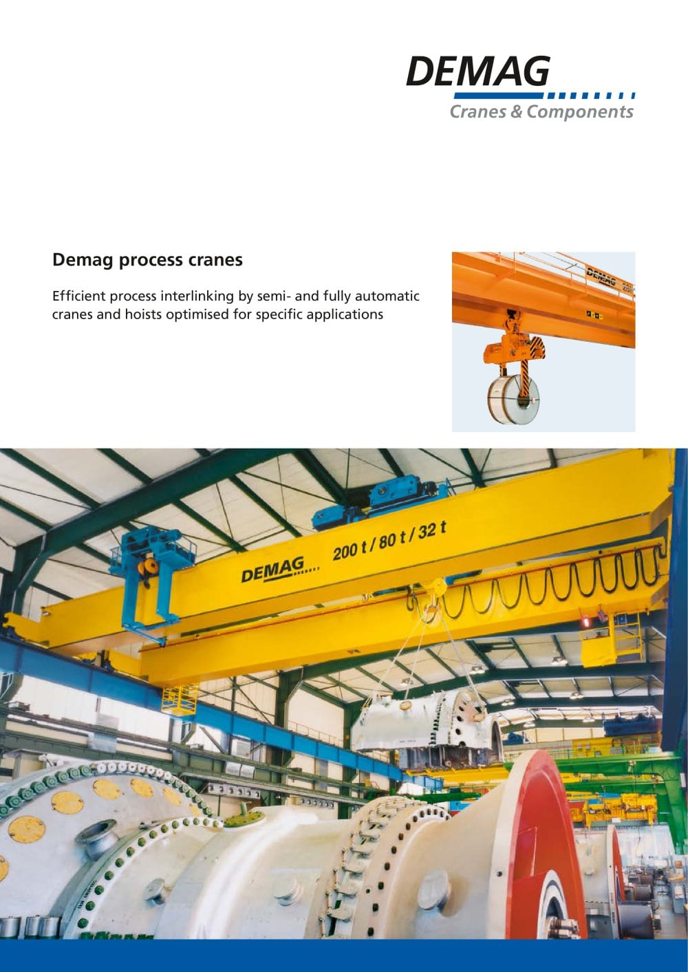 Demag Crane Catalog. Patent US4636962 Microprocessorcontrolled ...
