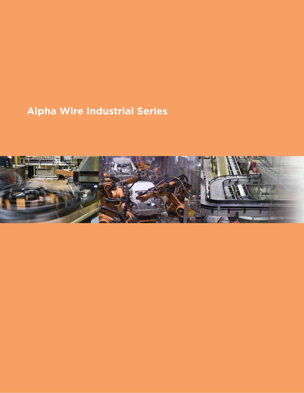Alpha Wire Industrial Series Cable - Alpha Wire - PDF Catalogue ...