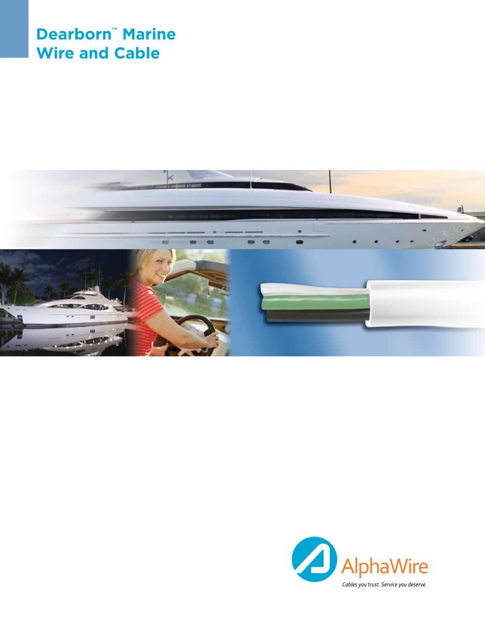 Dearborn Marine - Alpha Wire - PDF Catalogue | Technical ...