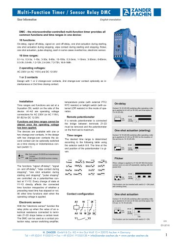Multifunction Timer DMC