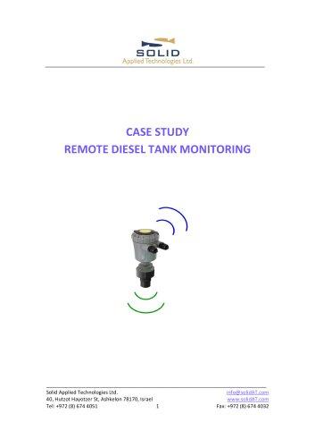 Diesel Tank Monitoring Solution