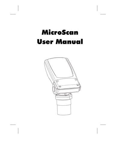 MicroScan User Manual