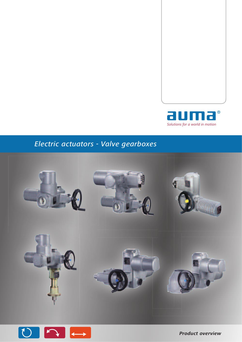 Auma Actuators And Valve Gearboxes Pdf Catalogue Wiring Diagram 1 16 Pages