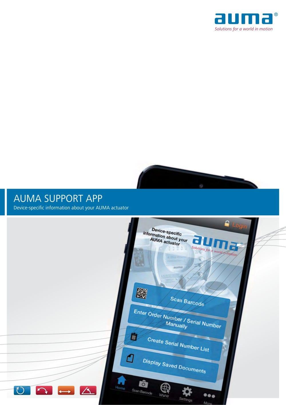Auma Support App Pdf Catalogue Technical Documentation Valve Actuators Wiring Diagram 1 4 Pages