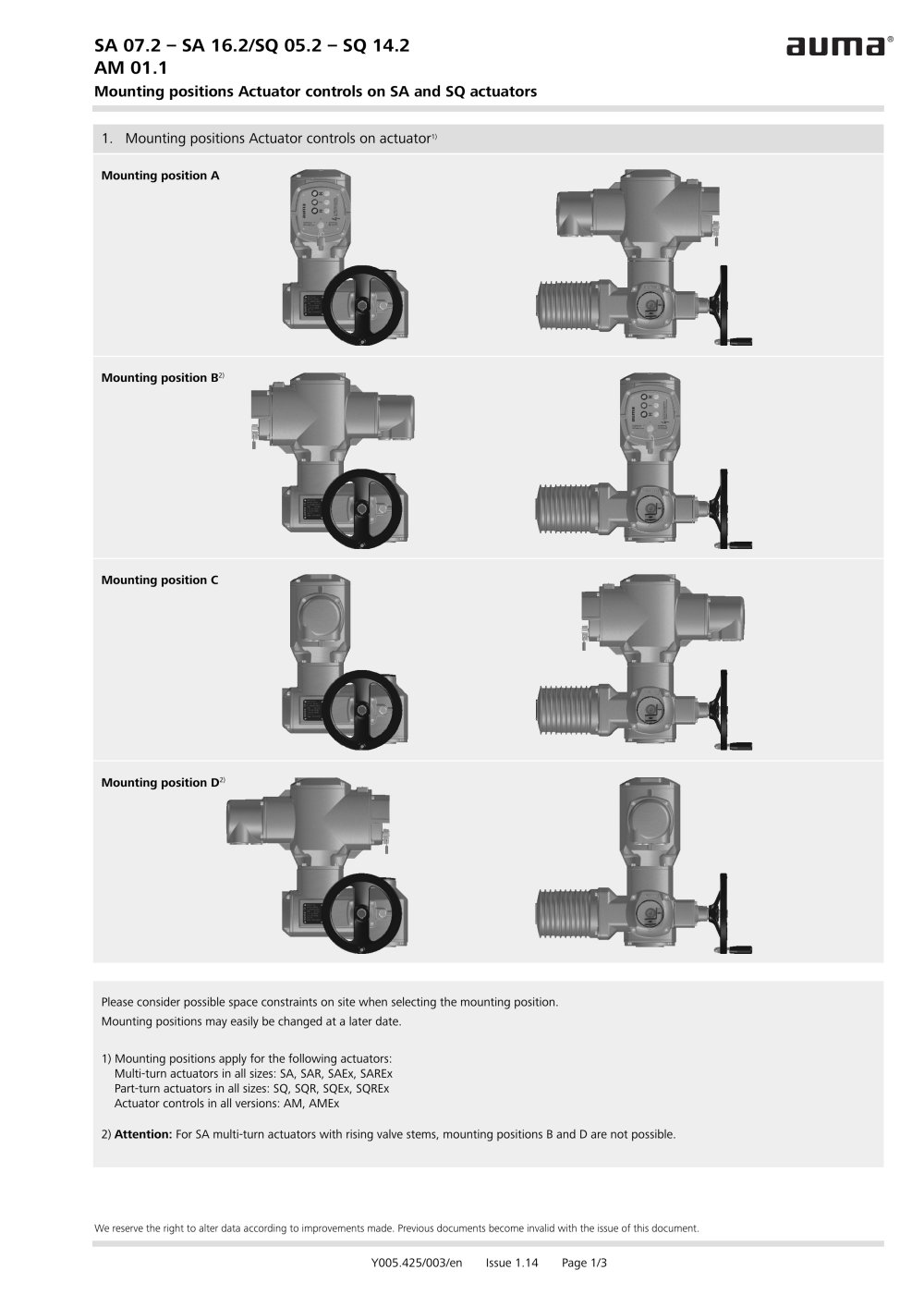 Auma Sa072 Wiring Diagram Bookmark About Actuators Sa 07 2 16 Sq 05 14 Am 01 1 Pdf Catalogs Rh Directindustry Com Profibus