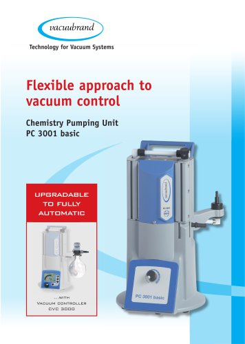 Chemistry pumping unit PC 3001 basic