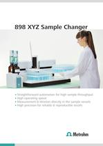 898 XYZ Sample Changer