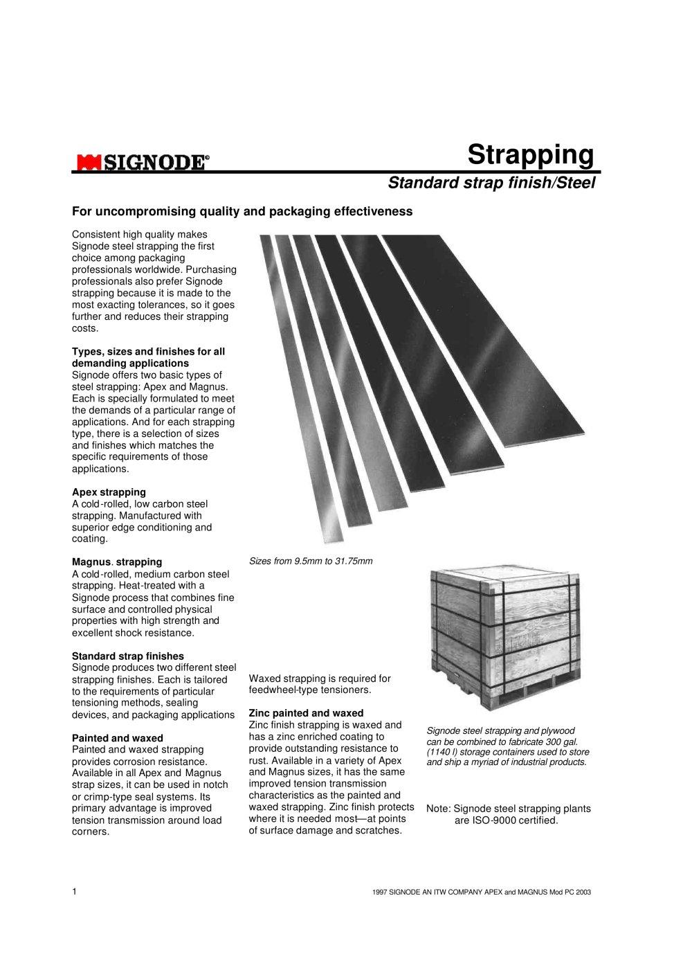 MagnusR Steel Strapping
