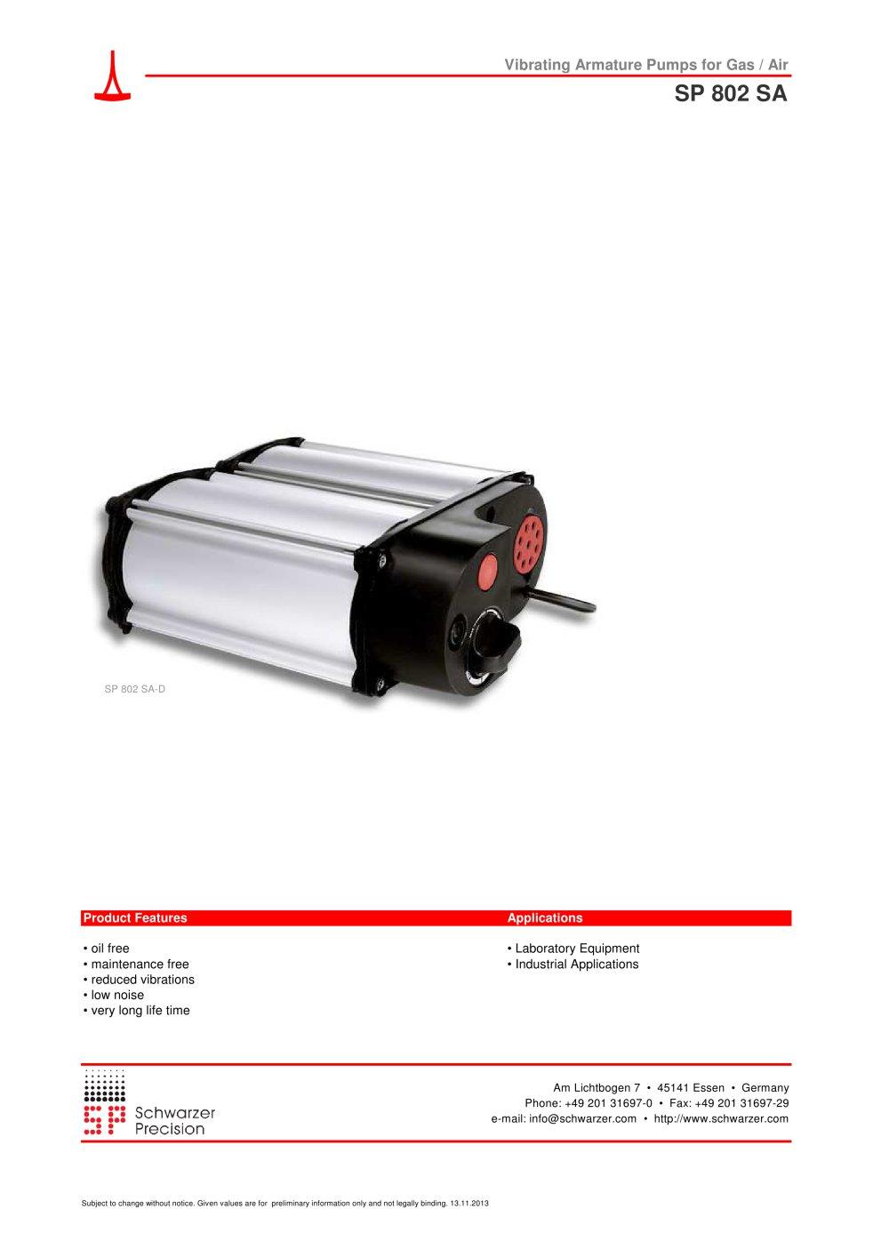802 sa d dd vibrating diaphragm pumps schwarzer precision pdf 802 sa d dd vibrating diaphragm pumps 1 3 pages ccuart Image collections