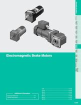 Electromagnetic Brake Motors