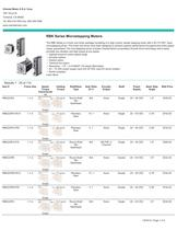 RBK Series Microstepping Motors