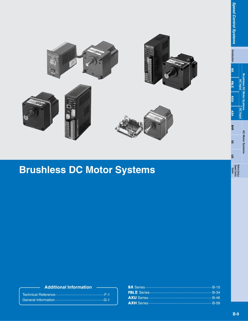 Vexta Brushless Dc Motors Oriental Motor Pdf Catalogue Electric Internal Connection For 115 230 Elctric 1 60 Pages